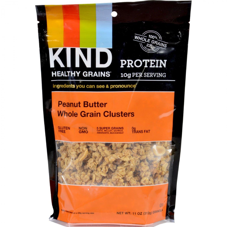 Kind Healthy Grains Peanut Butter Whole Grain Clusters - 11 oz - Case of 6