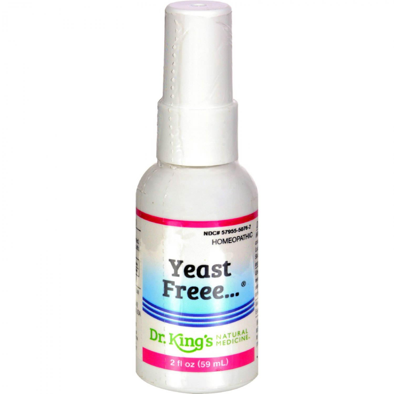 King Bio Homeopathic Yeast Free - 2 fl oz