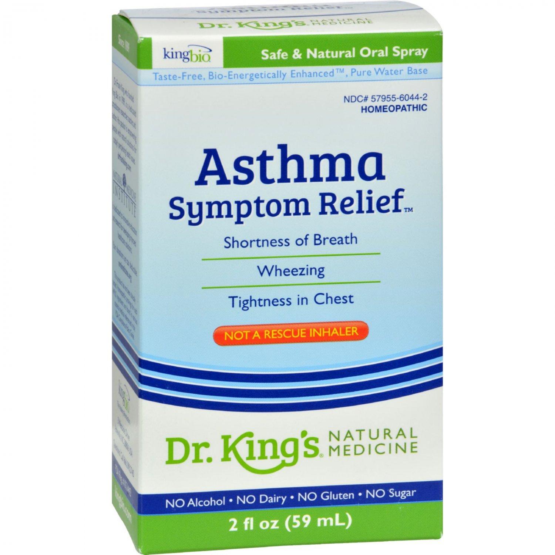King Bio Homeopathic Asthma Free - 2 fl oz