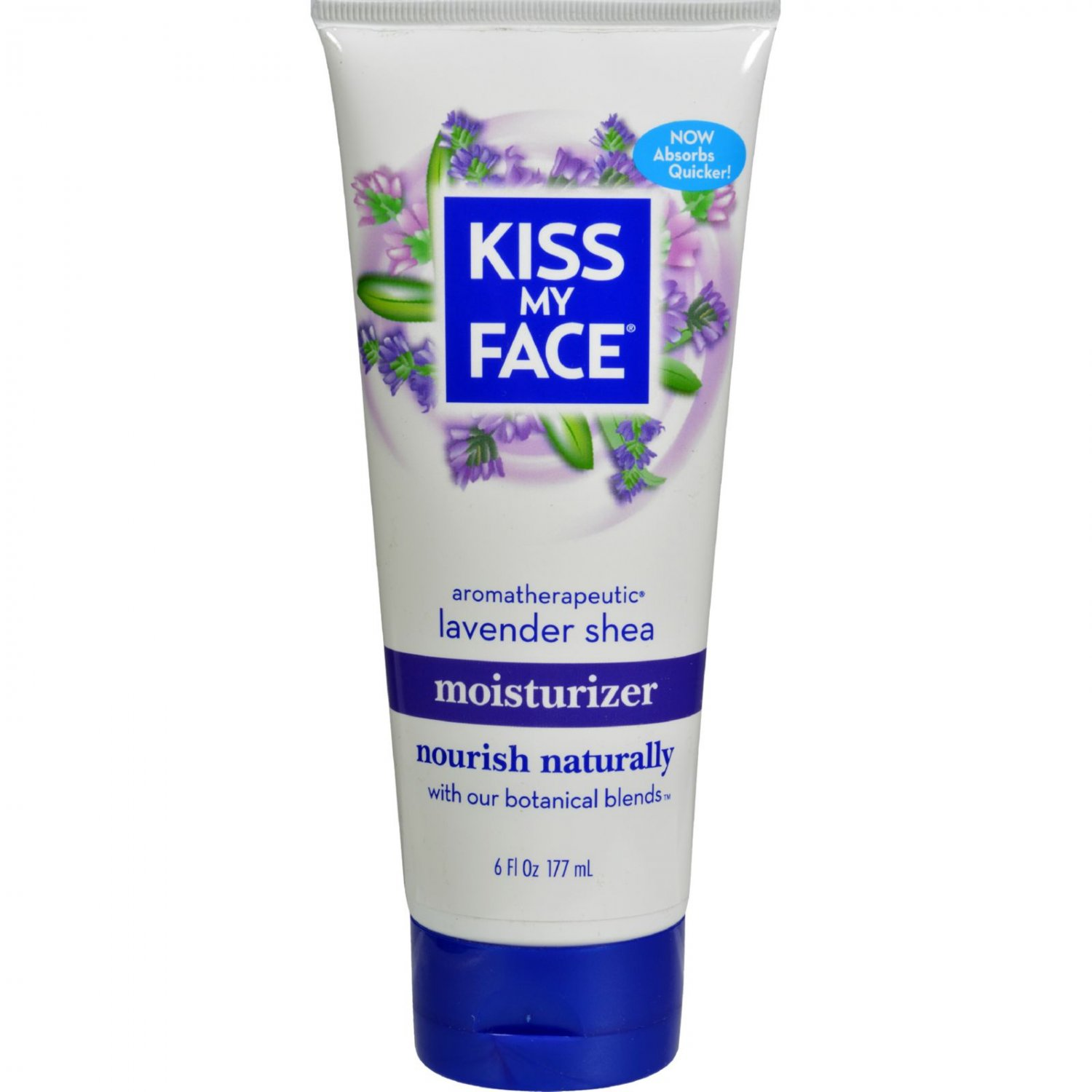 Kiss My Face Moisturizer - Lavender and Shea Butter - 6 oz