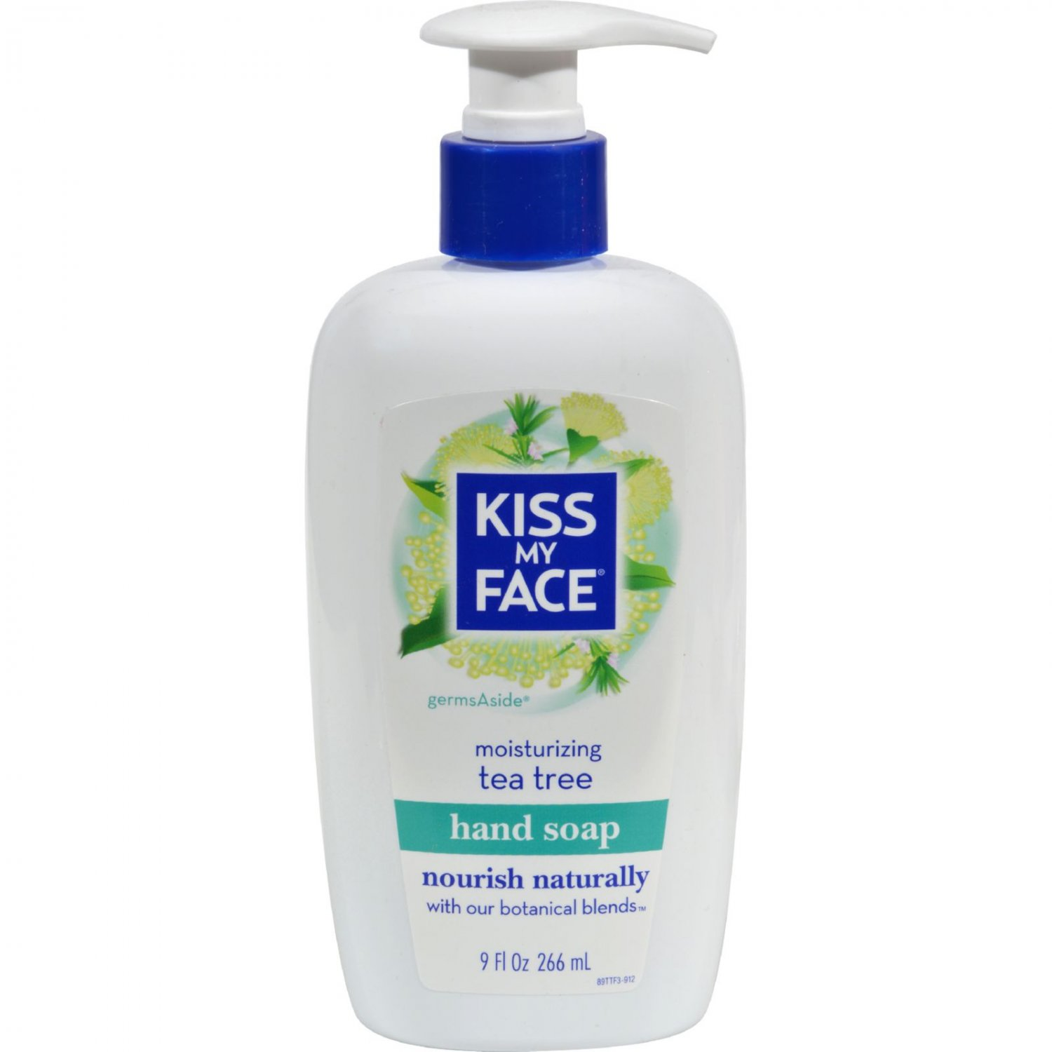 Kiss My Face Moisture Soap Tea Tree - 9 fl oz