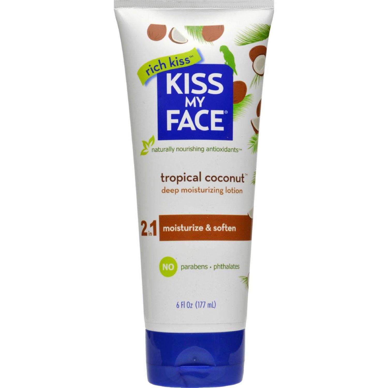 Kiss My Face Moisturizer - Coconut - 6 oz