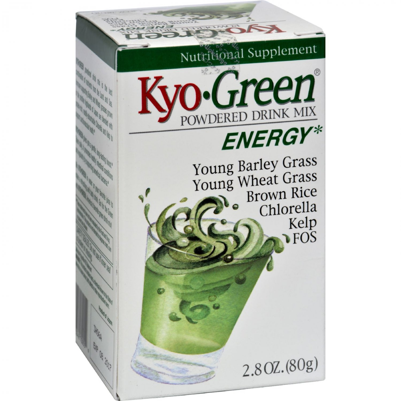 Kyolic Kyo-Green Energy Powdered Drink Mix - 2 oz