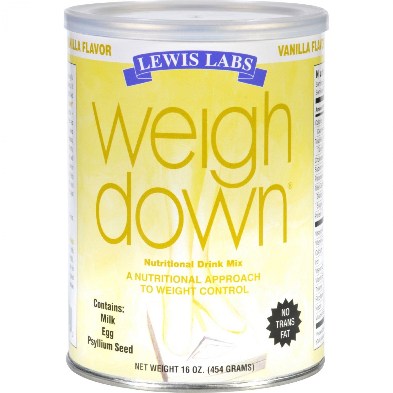 Lewis Lab Weigh Down - Vanilla - 16 oz