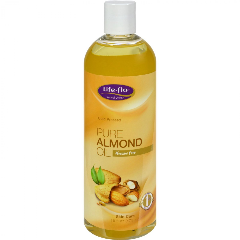 Life-Flo Pure Almond Oil - 16 fl oz