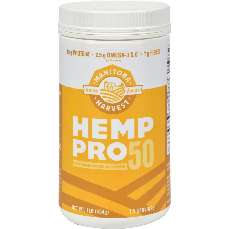 Manitoba Harvest Hemp Pro 50 - 16 oz