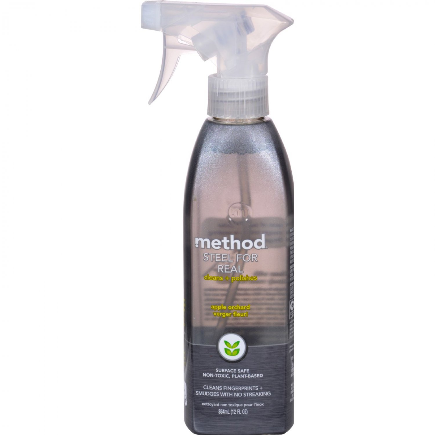Method Products Stainless Steel Polish - Steel for Real - 12 oz - Case of 6