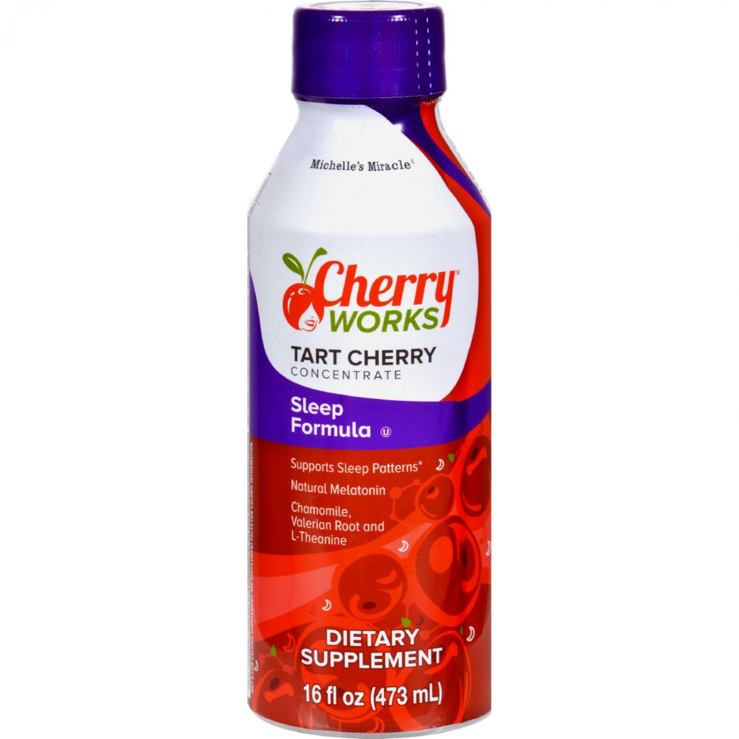 Michelle's Miracle Sleep Formula Tart Cherry Concentrate - 16 fl oz