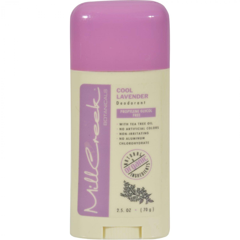 Mill Creek Deodorant Stick Cool Lavender - 2.5 oz