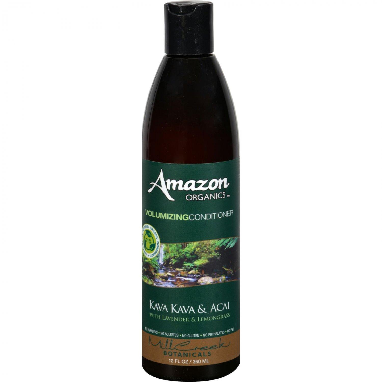 Mill Creek Amazon Organics Volumizing Conditioner Lavender and Lemon Grass - 12 fl oz