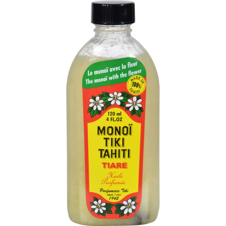 Monoi Tiare Tahiti Monoi Tiiki Tahiti Coconut Oil - 4 fl oz