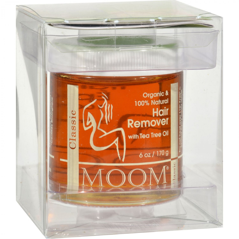 Moom Organic Hair Remover With Tea Tree Oil - 6 fl oz