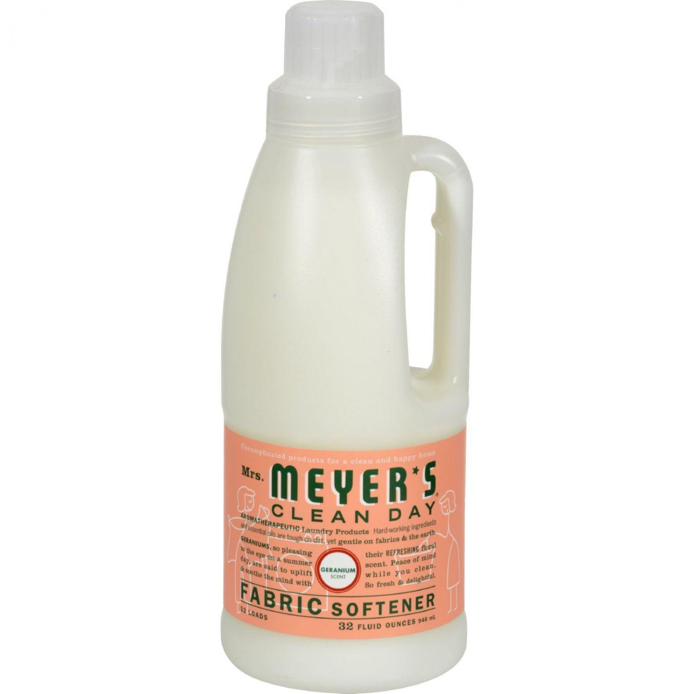 Mrs. Meyer's Fabric Softener - Geranium - Case of 6 - 32 oz