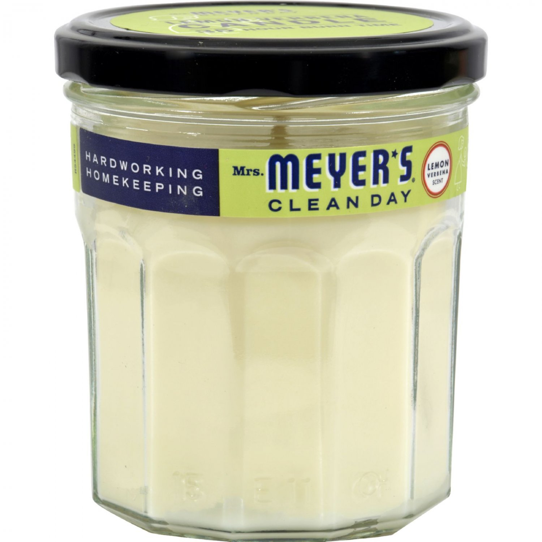 Mrs. Meyer's Soy Candle - Lemon Verbena - 7.2 oz Candle