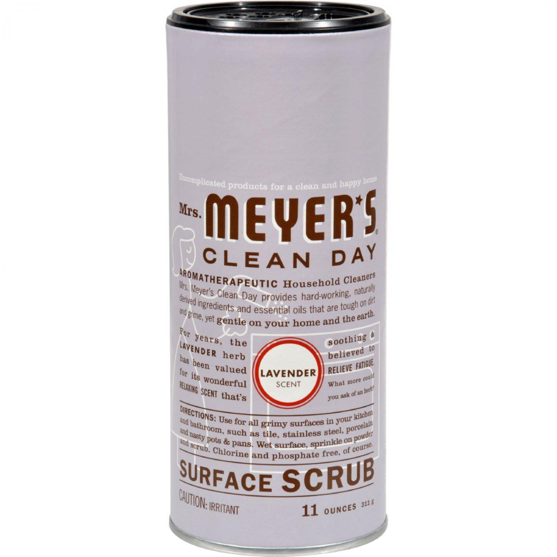 Mrs. Meyer's Surface Scrub - Lavender - 11 oz