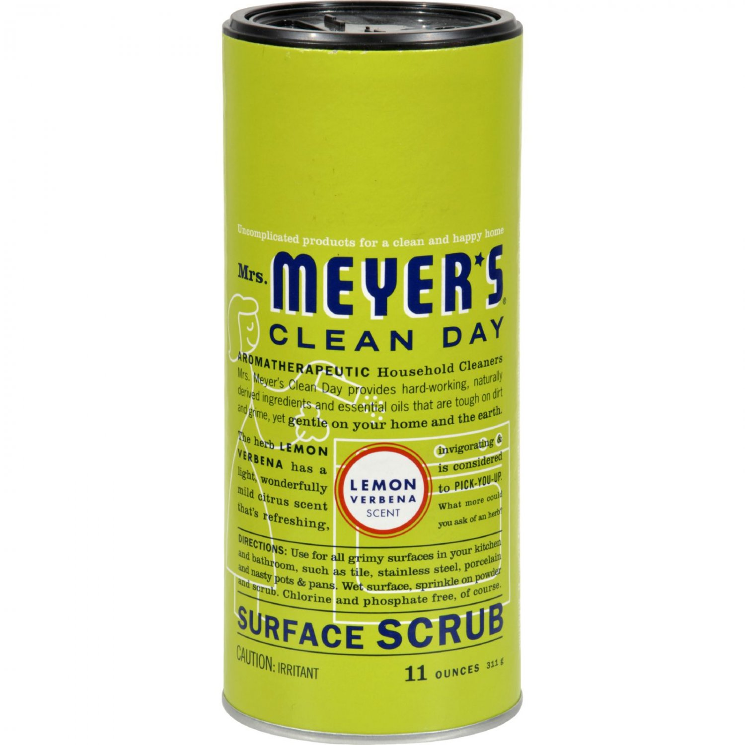 Mrs. Meyer's Surface Scrub - Lemon Verbena - 11 oz