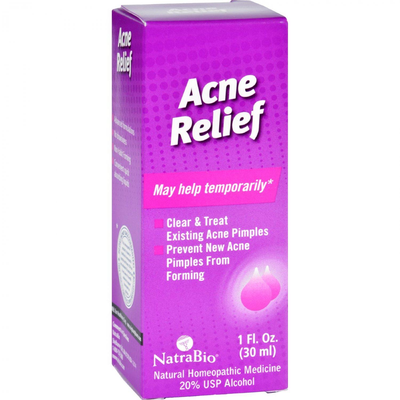 NatraBio Acne Relief Oral Drops - 1 fl oz