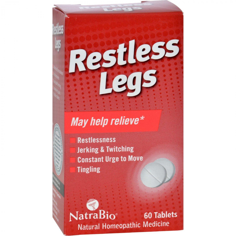 NatraBio Restless Legs - 60 Tablets