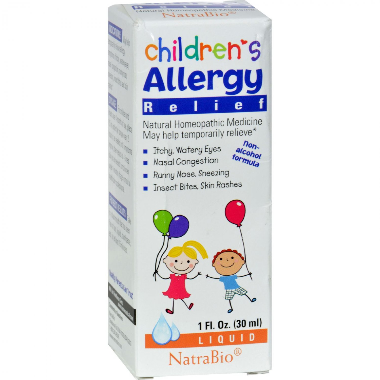 NatraBio Children's Allergy Relief - 1 fl oz