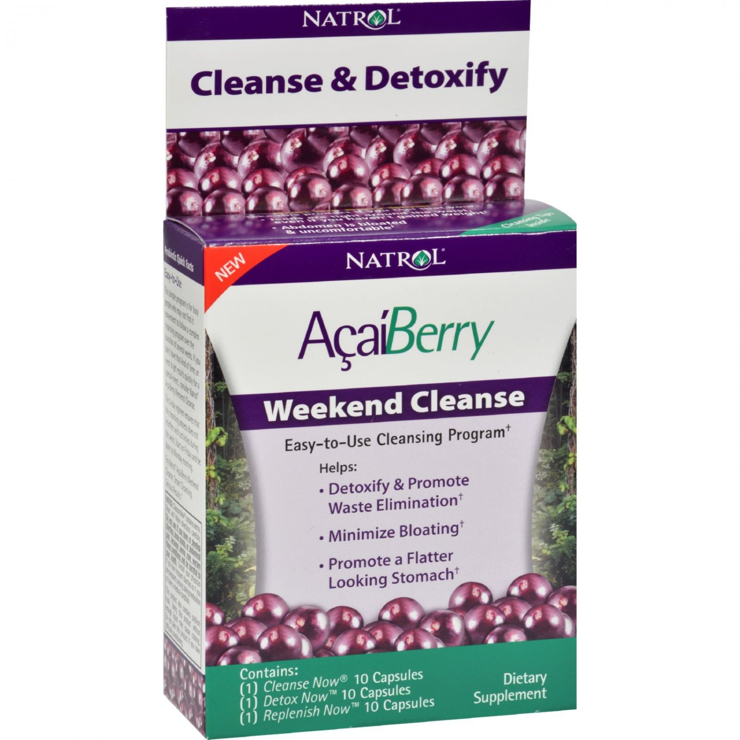 Natrol AcaiBerry Weekend Cleanse - 1 Kit