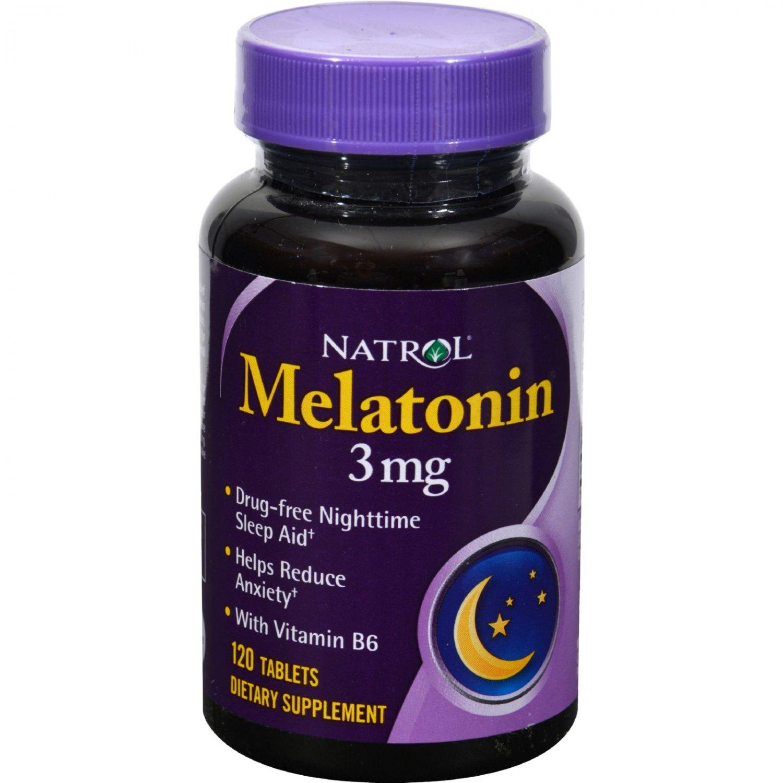 Natrol Melatonin - 3 mg - 120 Tablets