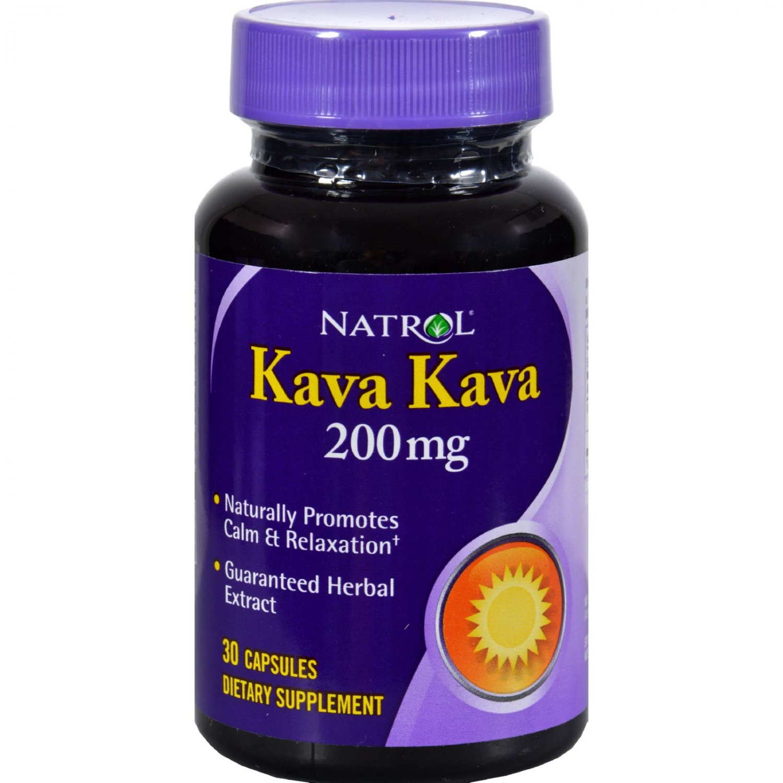 Natrol Kava Kava 200 mg - 30 Caps