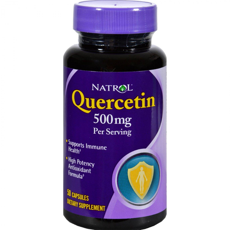 Natrol Quercetin - 500 mg - 50 Capsules