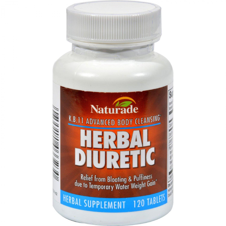 Naturade KB 11 Herbal Diuretic - 120 Tablets