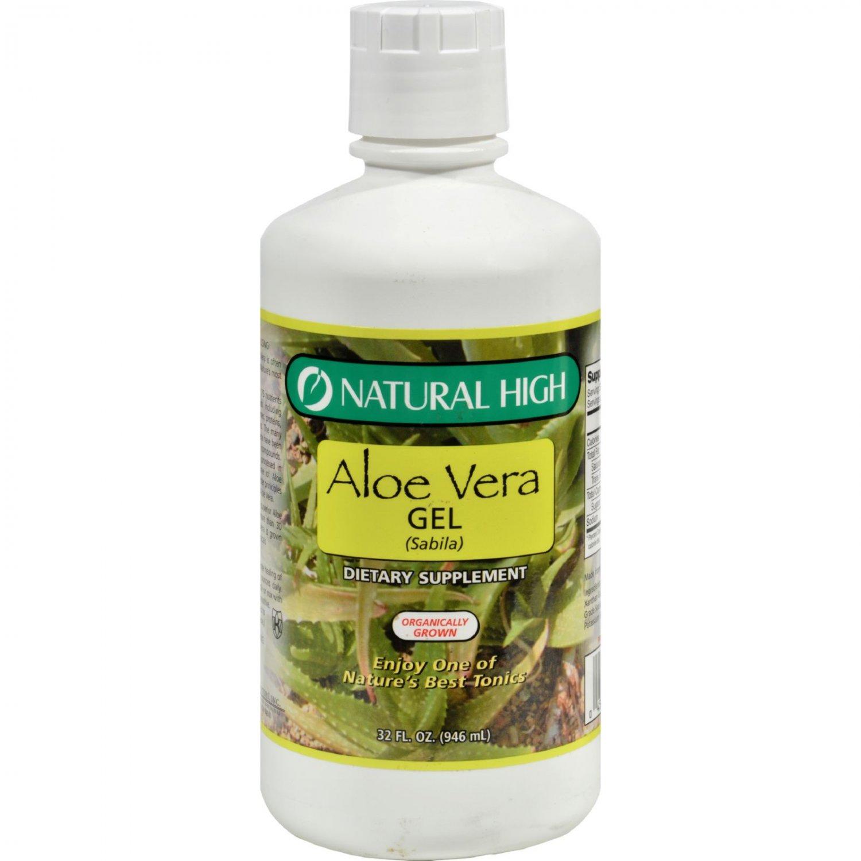 Natural High Aloe Vera Gel - 32 oz