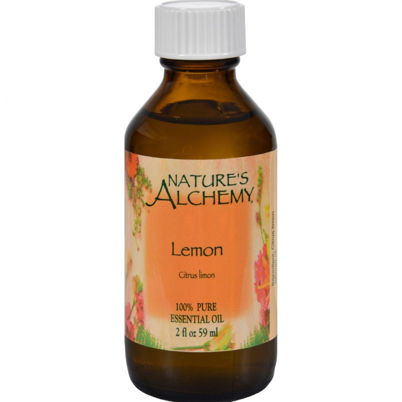 Nature's Alchemy 100% Pure Essential Oil Lemon - 2 fl oz