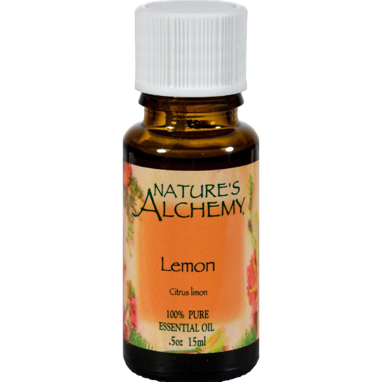 Nature's Alchemy 100% Pure Essential Oil Lemon - 0.5 fl oz