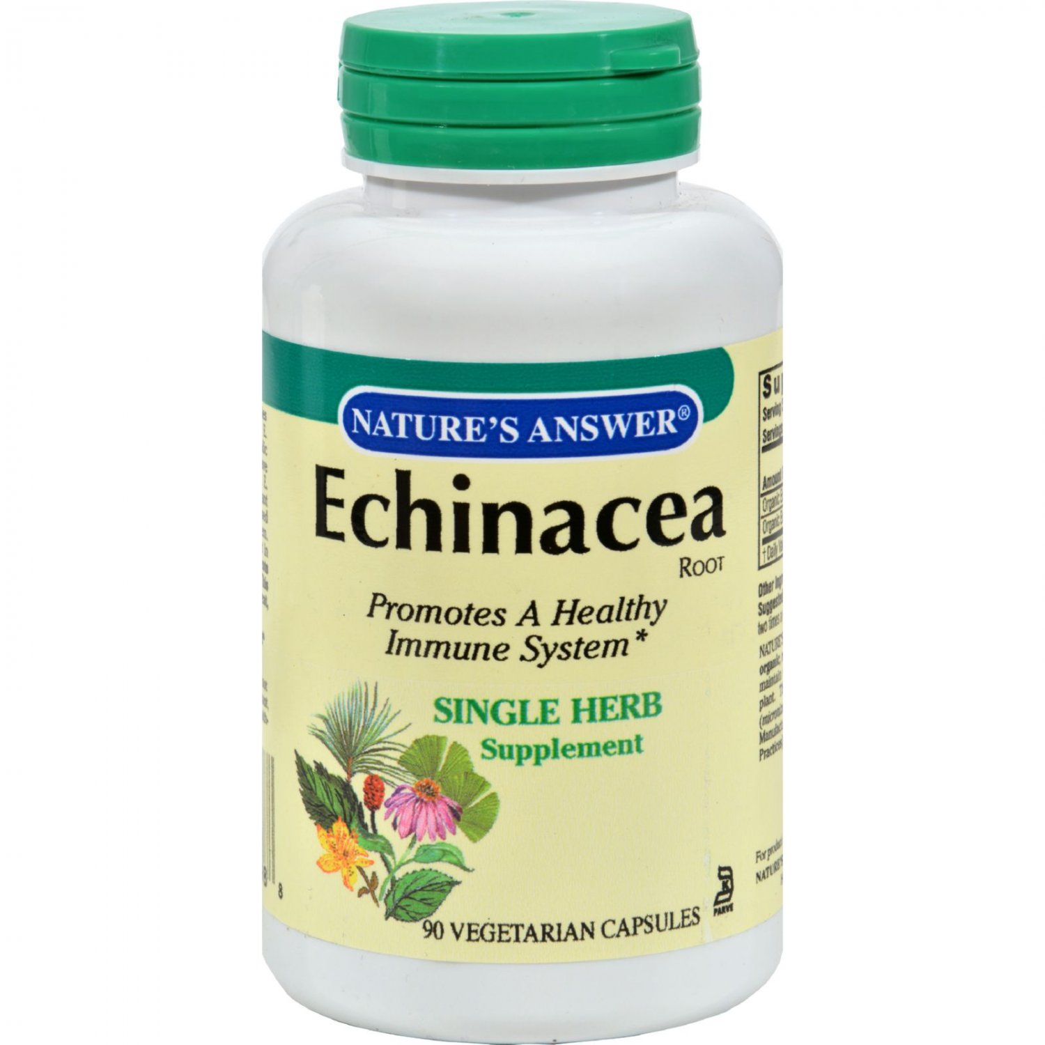 Nature's Answer Echinacea Root - 90 Vegetarian Capsules