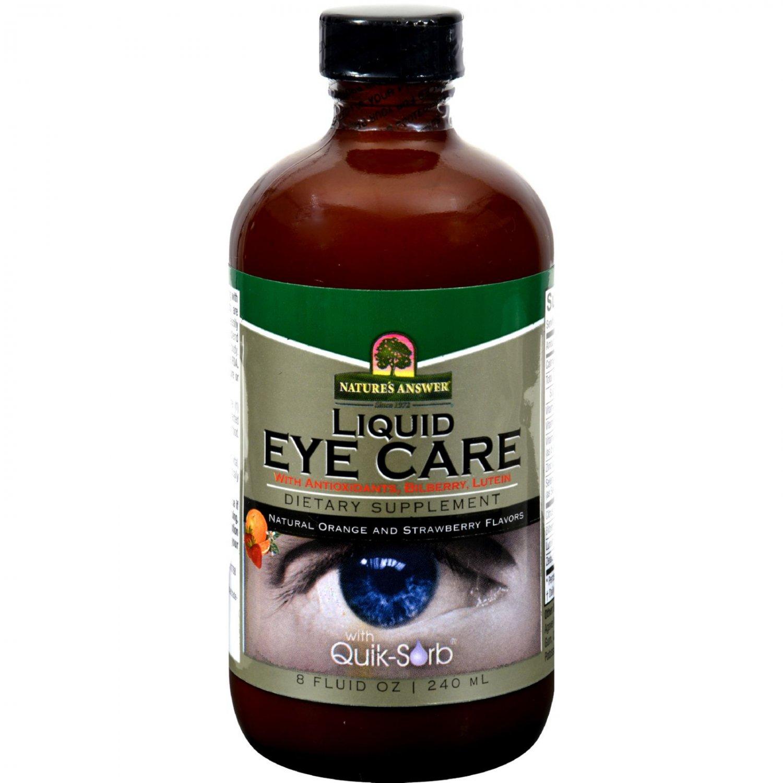 Nature's Answer Liquid Eye Care - 8 fl oz