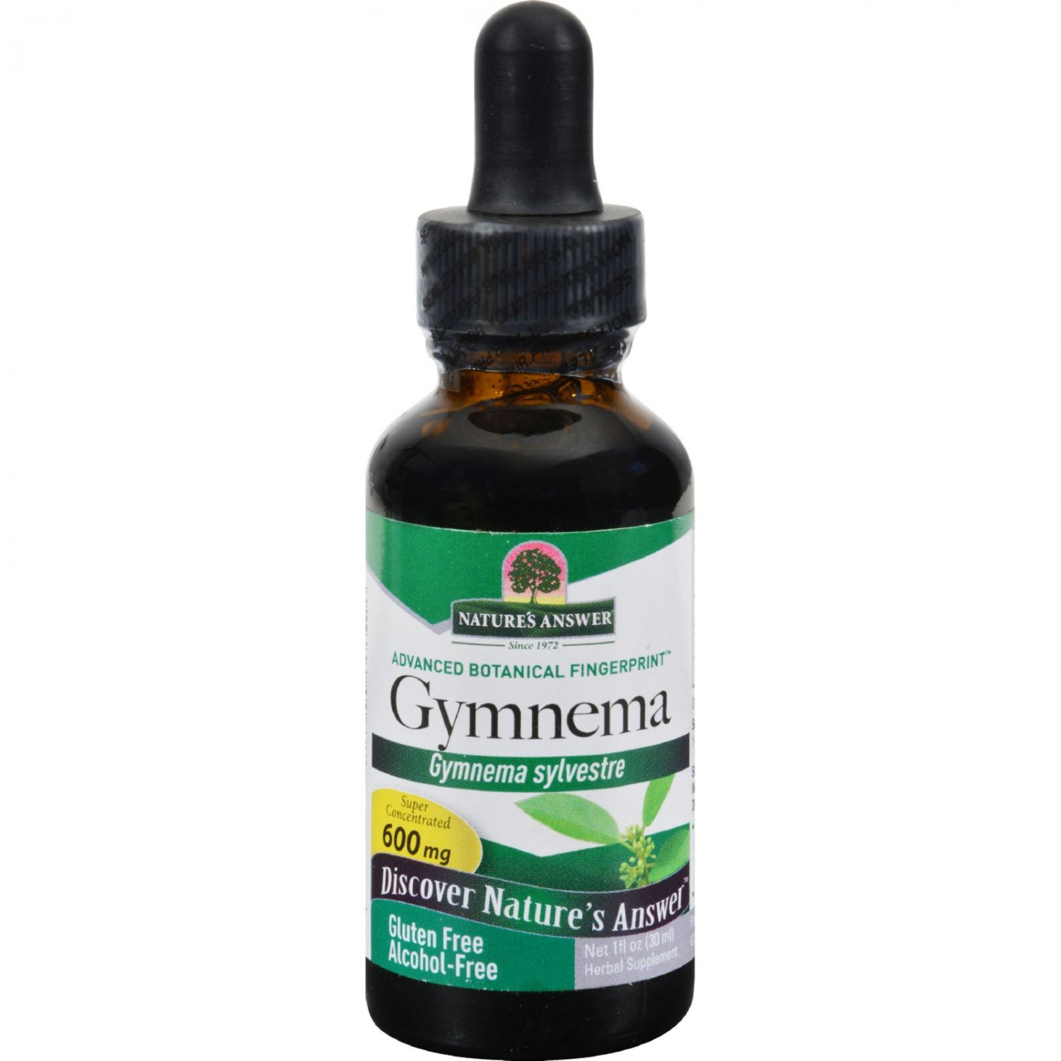 Nature's Answer Gymnema Leaf Alcohol Free - 1 fl oz