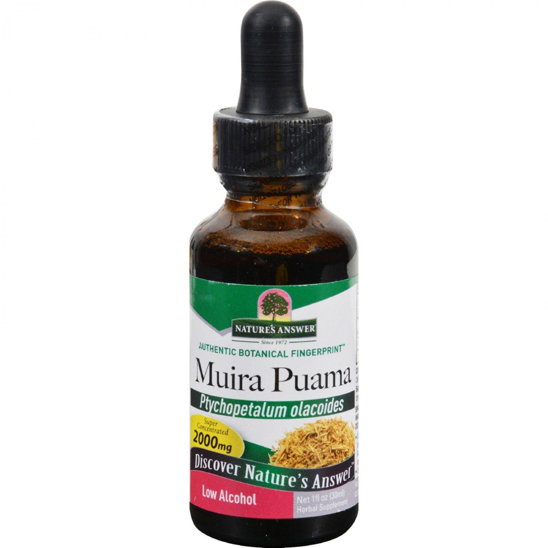 Nature's Answer Muira Puama Root - 1 fl oz