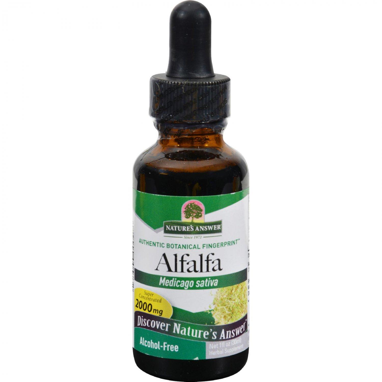 Nature's Answer Alfalfa Herb - 1 fl oz