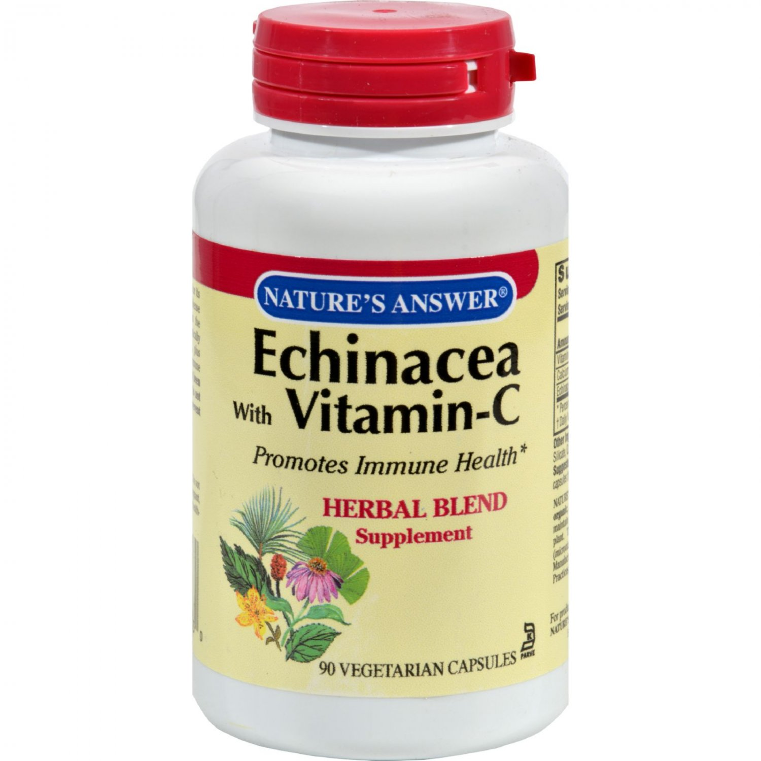 Nature's Answer Echinacea with Ester C - 90 Vcaps