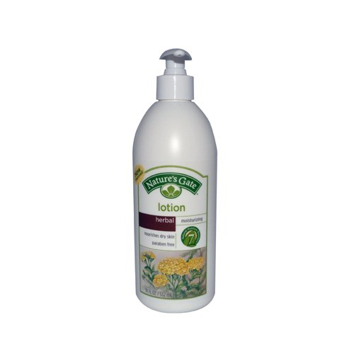 Nature's Gate Herbal Moisturizing Lotion - 18 fl oz - Case of 12