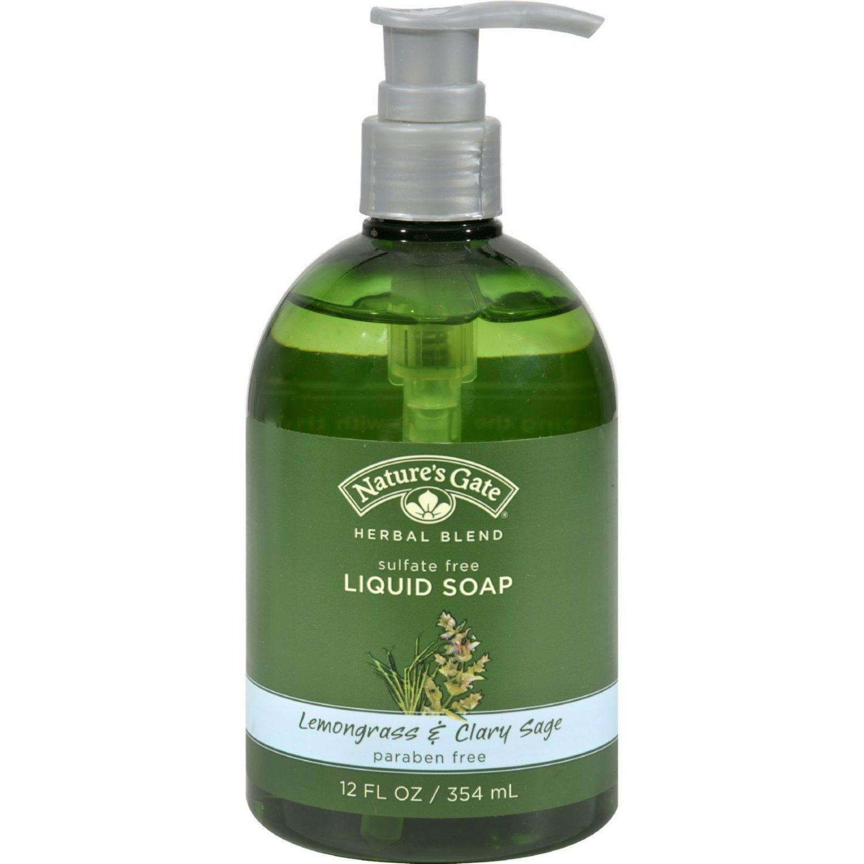 Nature's Gate Organics Liquid Soap Lemongrass and Clary Sage - 12 fl oz