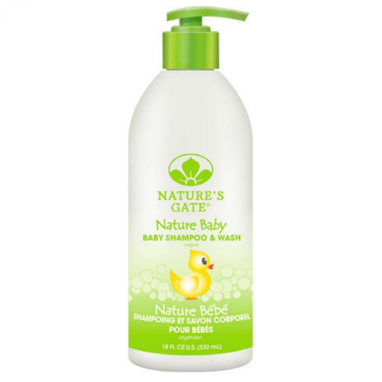 Nature's Gate Baby Shampoo and Wash - 18 fl oz