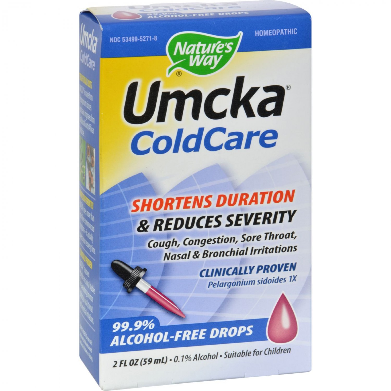 Nature's Way Umcka ColdCare Alcohol-Free Drops - 2 fl oz