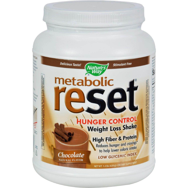 Nature's Way Metabolic ReSet Shake Mix Chocolate - 1.4 lbs