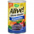 Nature's Way Alive Soy Protein Ultra-Shake Vanilla - 21 oz