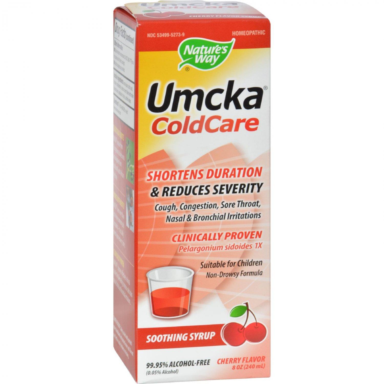 Nature's Way Umcka ColdCare Syrup Cherry - 8 fl oz