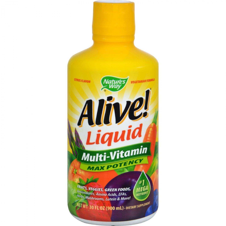 Nature's Way Alive Liquid Multi Citrus - 30 fl oz
