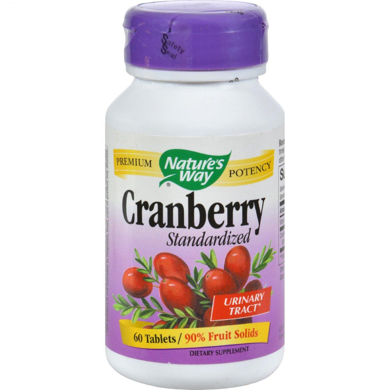 Nature's Way Cranberry Standardized - 60 Tablets