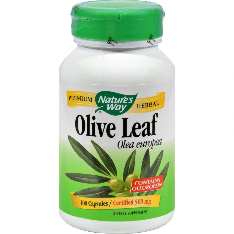 Nature's Way Olive Leaf Olea Europea - 100 Capsules