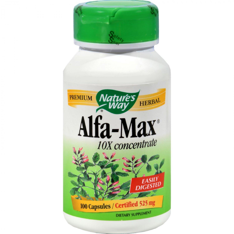 Nature's Way Alfa-Max 10X Concentrate - 100 Capsules