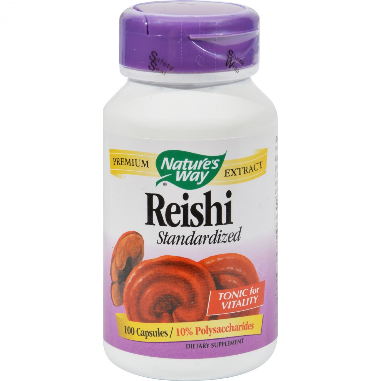 Nature's Way Reishi Standardized - 100 Capsules