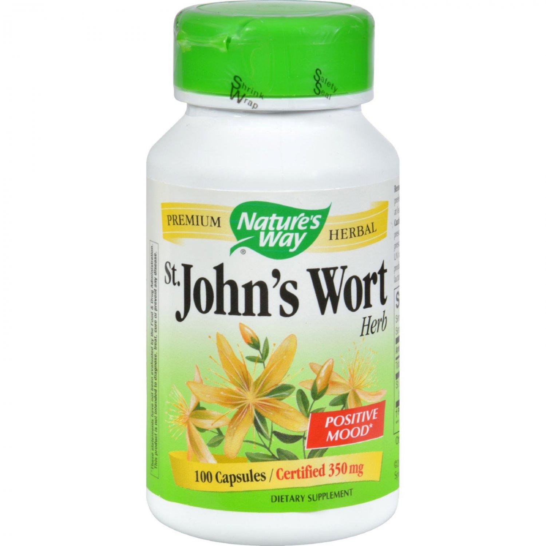 Nature's Way St John's Wort Herb - 100 Capsules